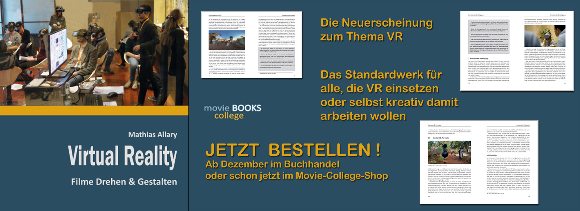 Banner Virtual Reality Buch Schmal 2000